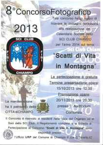 SCI CLUB 2013