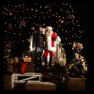 Assessore Righetto con Babbo Natale