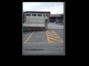Parcheggio scuole Arso