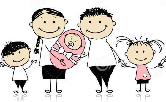 grande-famiglia-felice-con-i-bambini-bambino-appena-nato-18892252