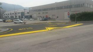 Nuova bretella in via Cima Campodavanti