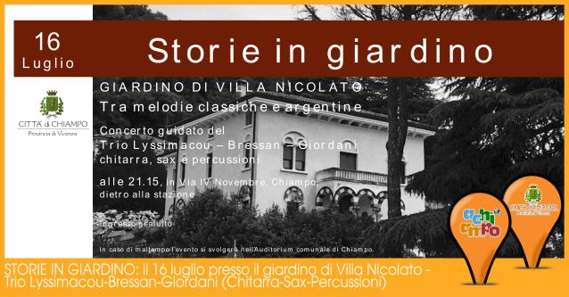 STORIE IN GIARDINO