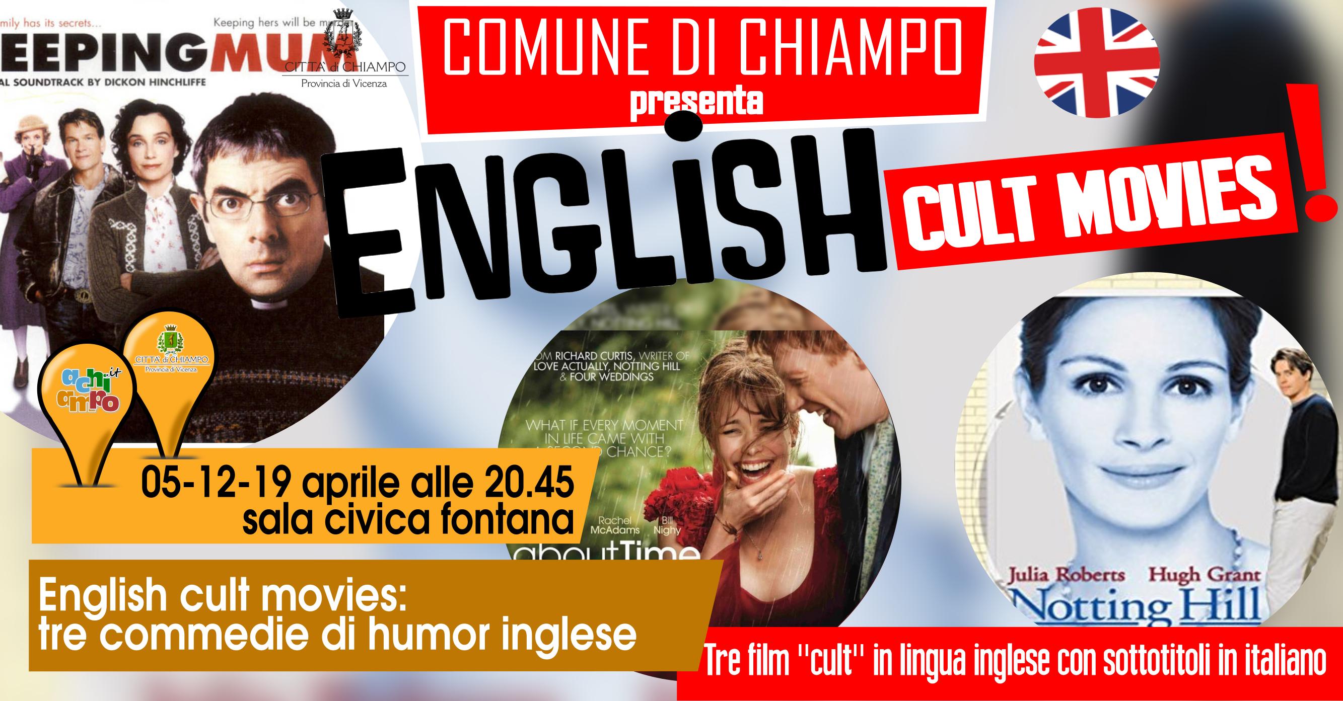 Film in lingua originale e sottotitoli in inglese